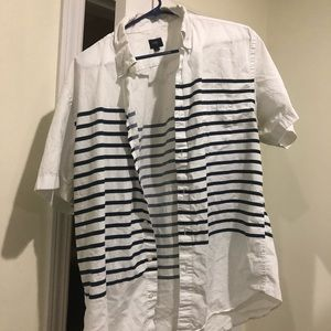 J. Crew Men's striped button down